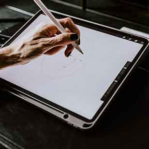 Tablette graphique pour illustration
